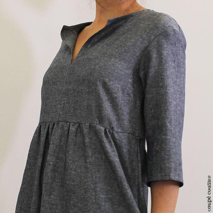 patron de couture robe simple recherche google couture pinterest robe couture and. Black Bedroom Furniture Sets. Home Design Ideas