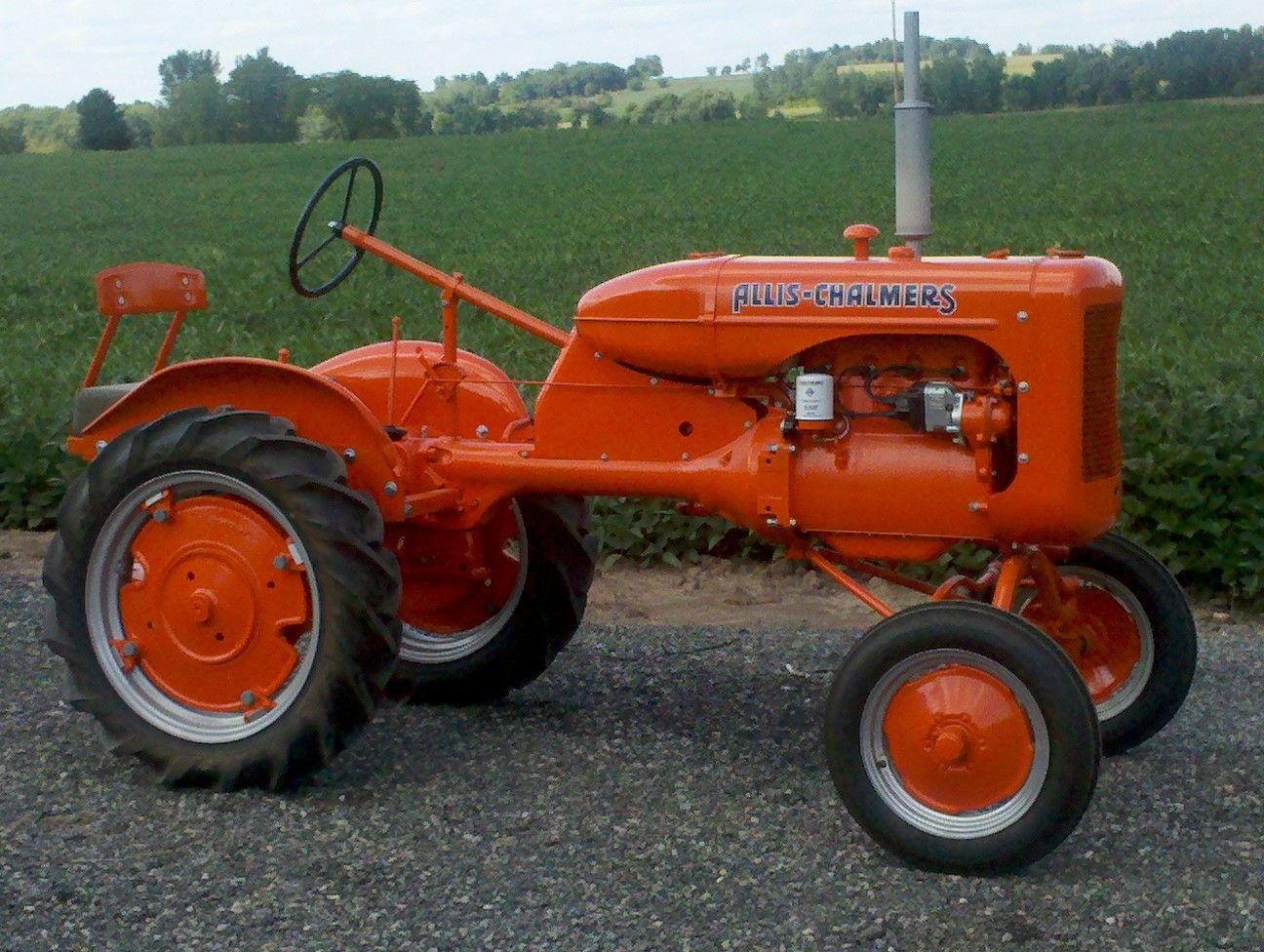 Vintage Allis Chalmers Tractors : Allis chalmers tractor hľadať googlom