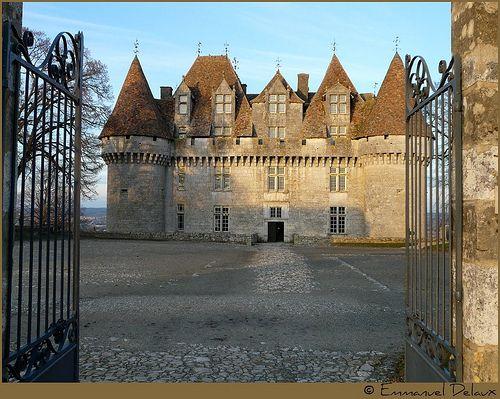 Chateau de Monbazillac - Dordogne  + Vin + pruneaux!!!