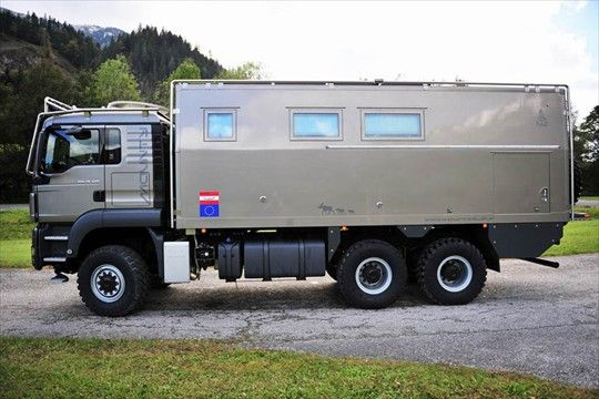 Man Tgs 26 480 6x6 Expedition Truck Expedition Truck Expedition