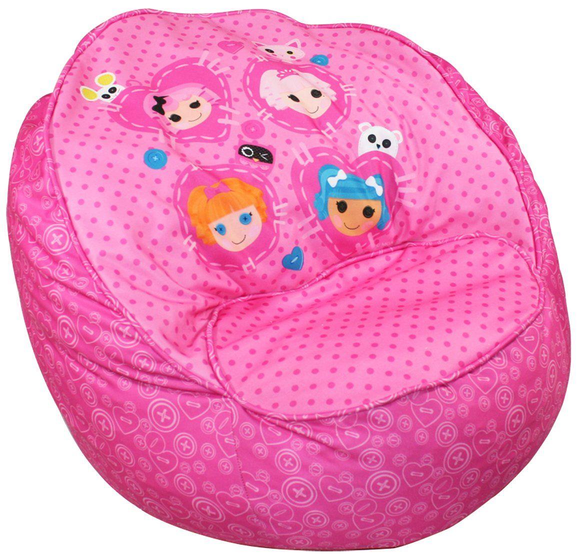 Lalaloopsy Bean bag chair kids, Toddler bean bag chair
