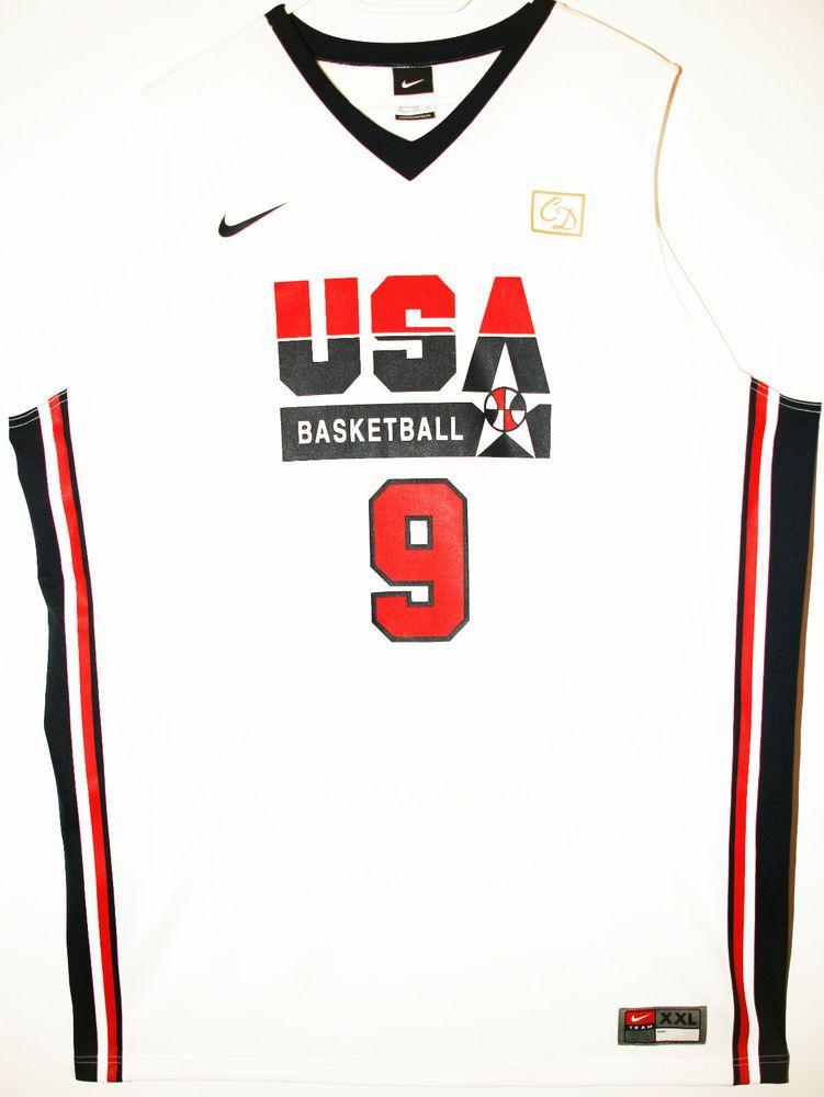 Nike NBA USA Basketball #9 Michael Jordan Trikot/Jersey Size 52 - Gr��e XXL