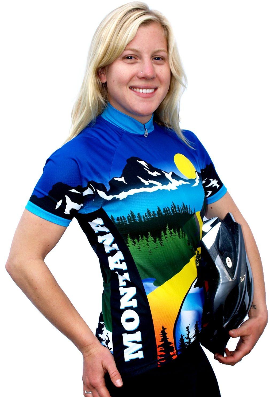 Womens Montana Bike Jersey Women's cycling jersey