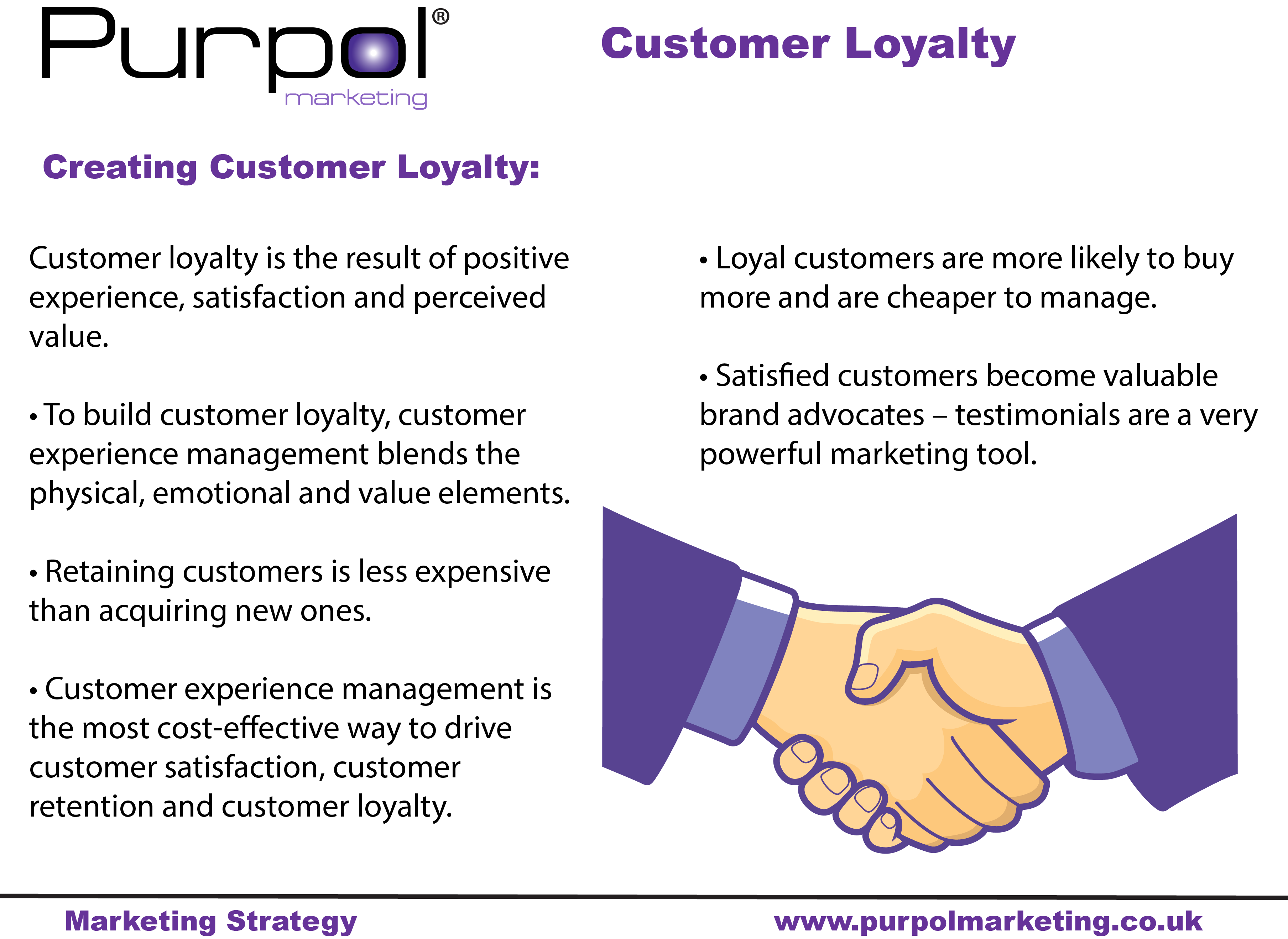 Customer Loyalty Is A Result Of Positive Experience Satisfaction