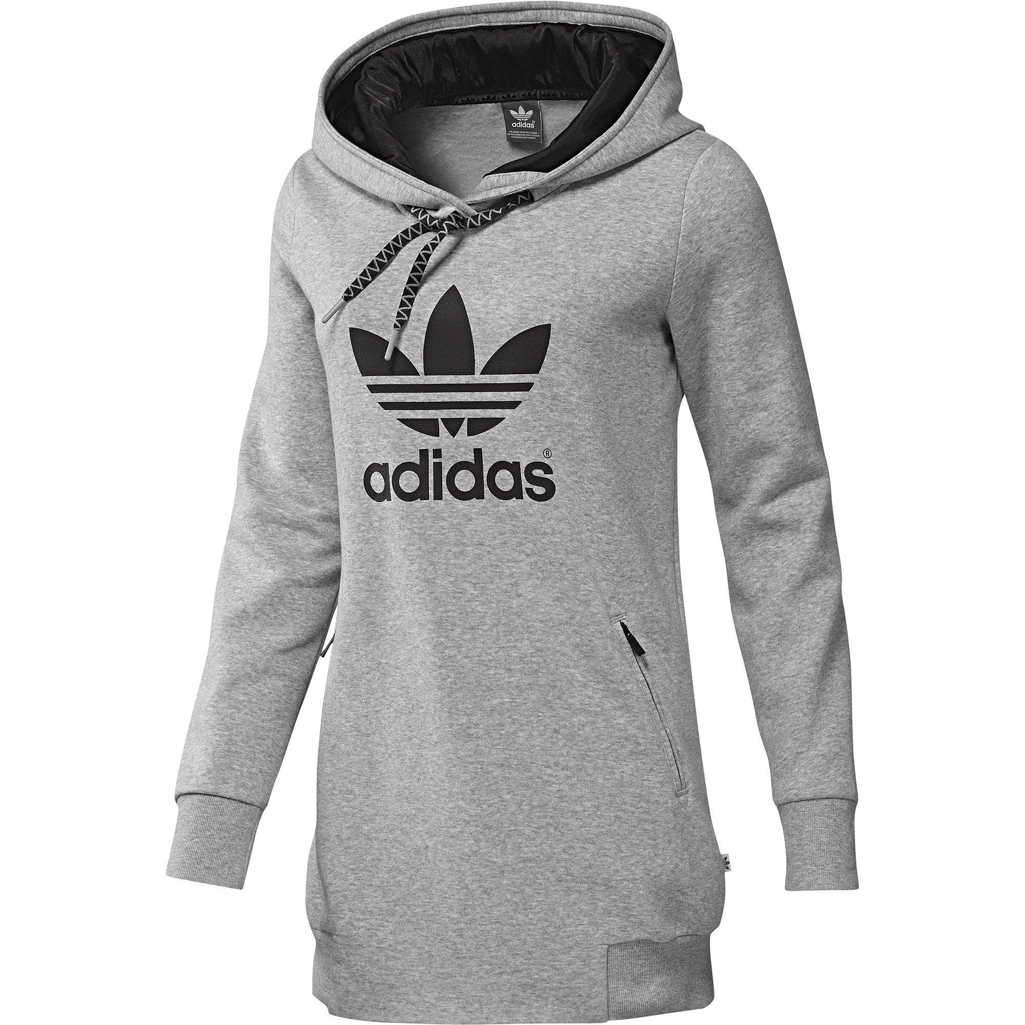 Adidas Women S Long Logo Hoodie Adidas Australia Adidas Women Hoodies Hoodies Womens [ 2000 x 2000 Pixel ]