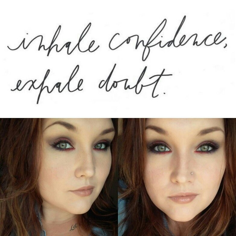 Dare to show off who you really are. #Makeup #Confidence #Dare