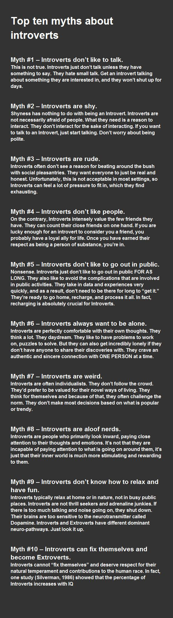 introvert personlighed