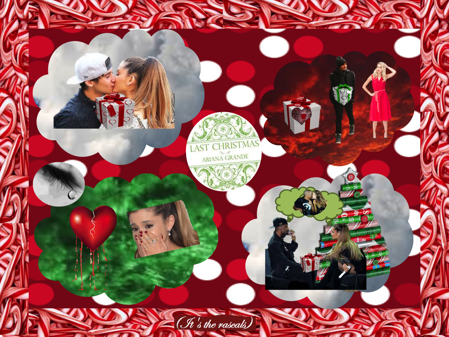 Pin su Yours Truly and Christmas Kisses Photo Collages