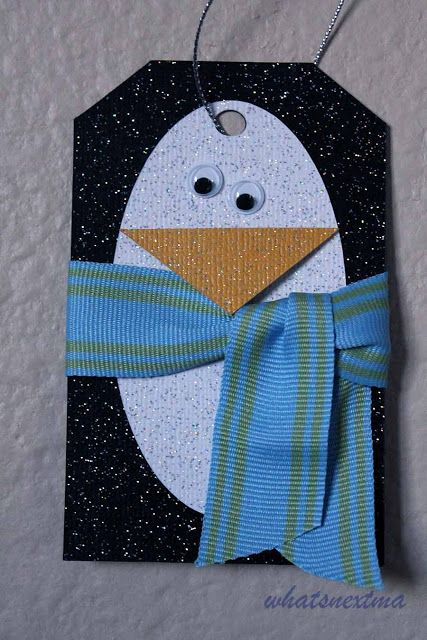 whats next ma: Penguin Christmas Tags | Gift Tags ...
