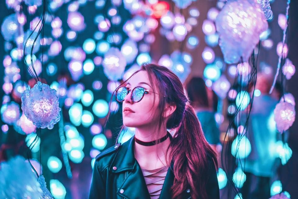 Neon Photography, Creative Portrait