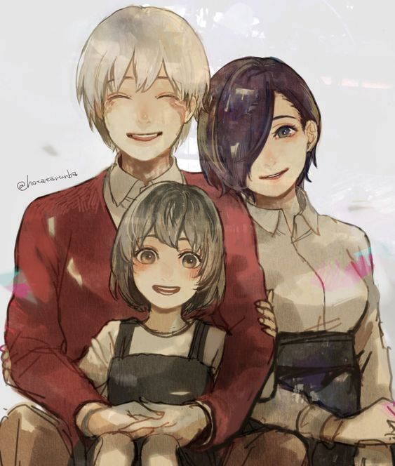 Tokyo Kaneki Family Touka X Ghoul
