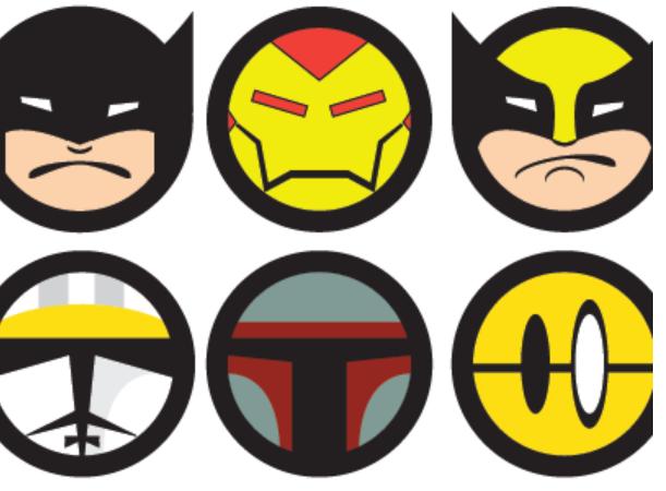 могу картинки смайлов все супергерои всех