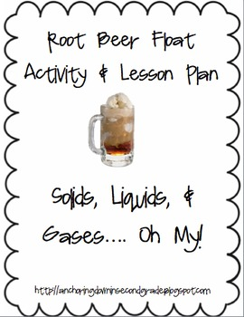 Root Beer Float Science Inquiry Lesson Plan & Handout