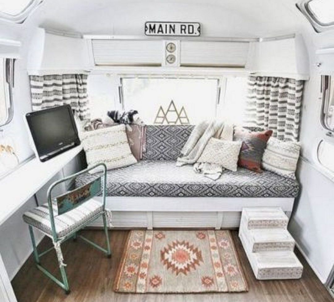 40 Best DIY Remodeled Campers On A Budget Ideas DECOREDO Rv InteriorCamper
