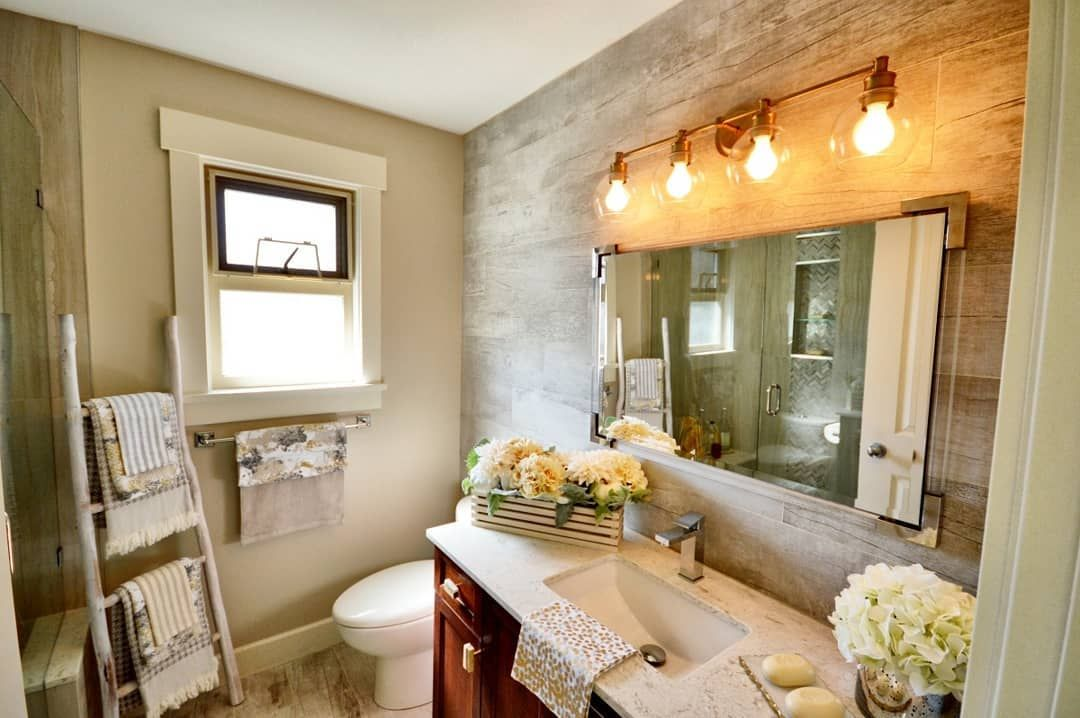 create a shiplapinspired tile wall feature showcasing 8