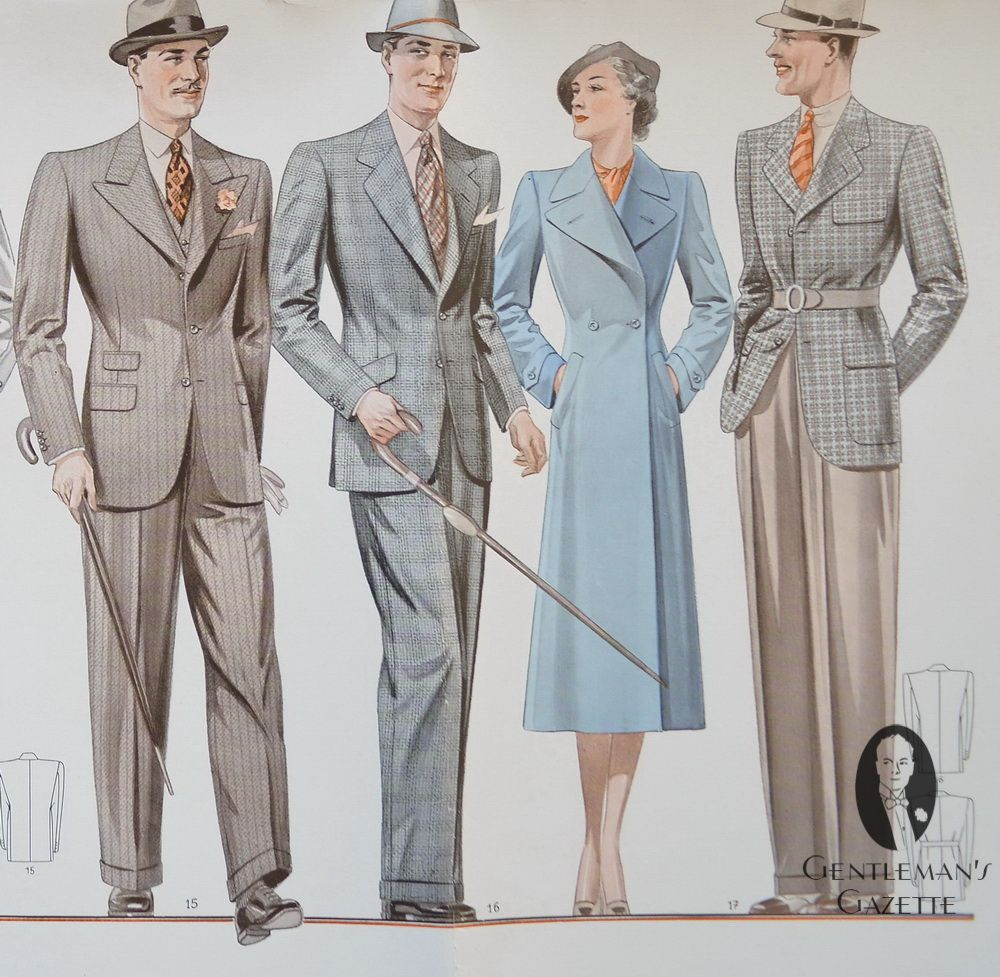 1930 S Mens Summer Suits Guide To Fashion