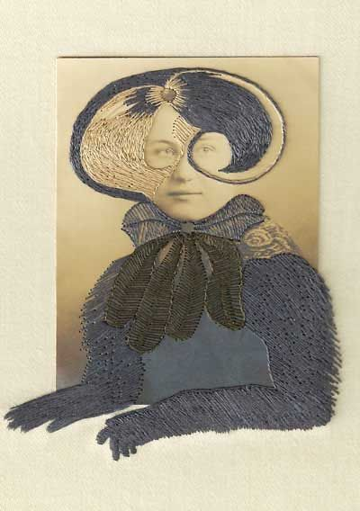Stacey Page, Bee. Embroidery