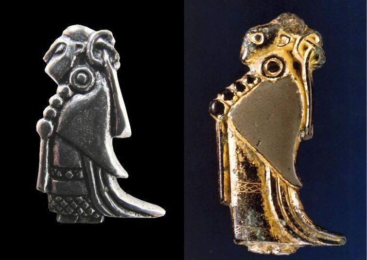 A picture of our valkyrie pendant alongside the original viking a picture of our valkyrie pendant alongside the original viking artefact from oland in sweden in viking mythology a valkyrie was a spirit woman who rode aloadofball Images