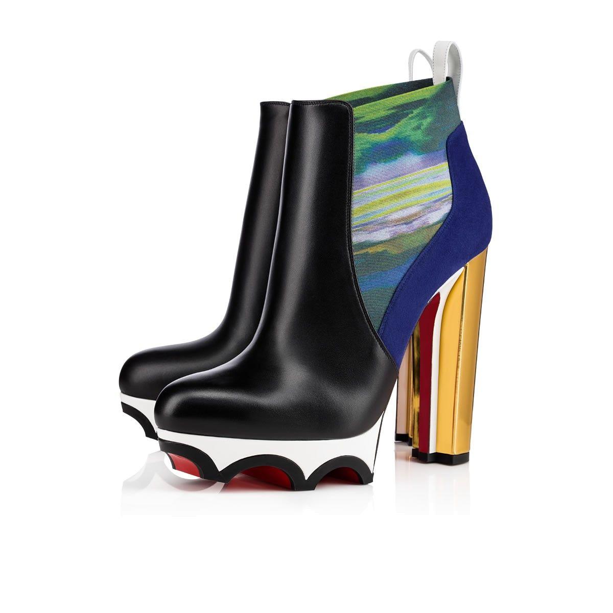 new styles b5ab6 19076 Shoes - Crampetta 140 Calf/specchio Heel - Christian ...