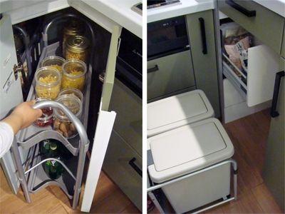 l型キッチンのコーナー収納はどう使う L型キッチン L字型キッチン キッチン