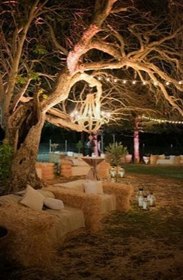 Garden party m tamorphosez votre jardin bottes de paille les invit s et pailles - Acheter de la paille pour jardin ...