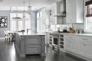 Custom home - transitional - Kitchen - New York - Durso Construction ...