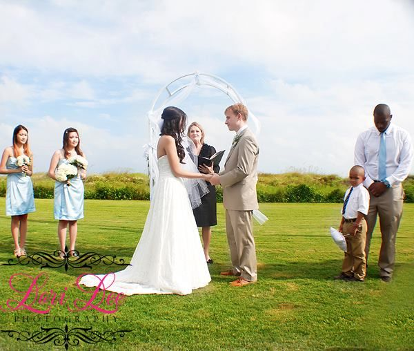 Lawn Wedding At The Citadel Beach House Bride Charleston Wedding Couple Photos
