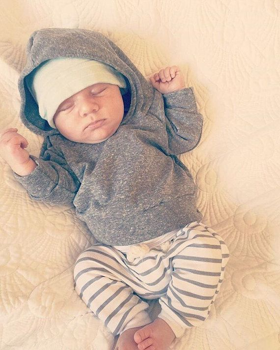 fcf50f32a9653 Baby boy outfit, unisex baby outfit, baby girl outfit, gray baby ...