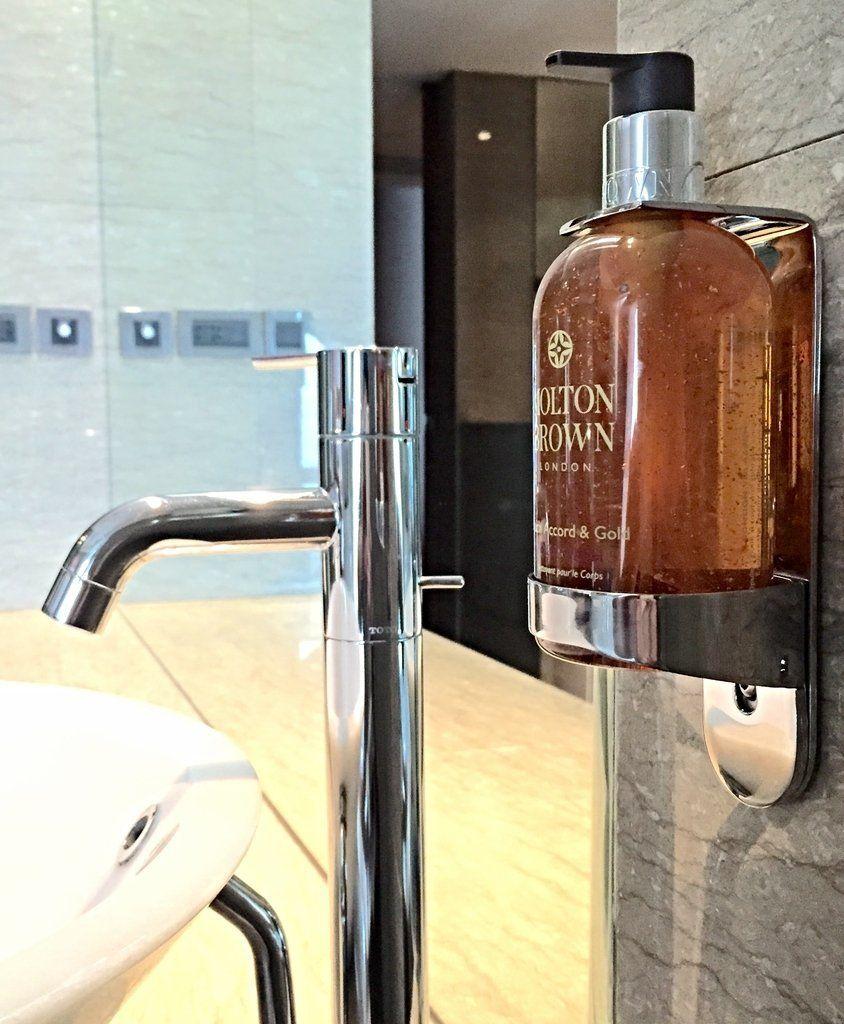 Single Handwash Holder Dispenser Arc Butler Wall Mount
