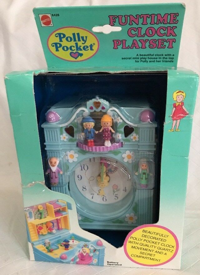 Polly Pocket Petit Monde Playset Pack chat arbre NEUF