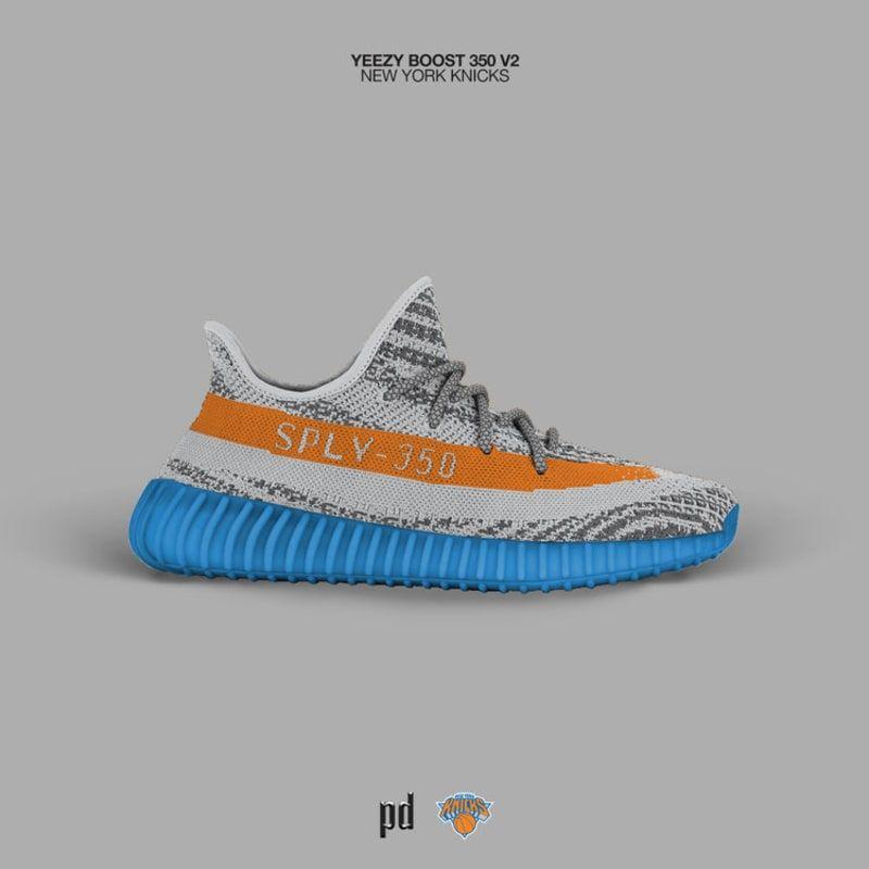 info for 2345e e9e21 Latest Adidas Yeezy Boost 350 V2 York Knicks 2018 Online | 3 ...