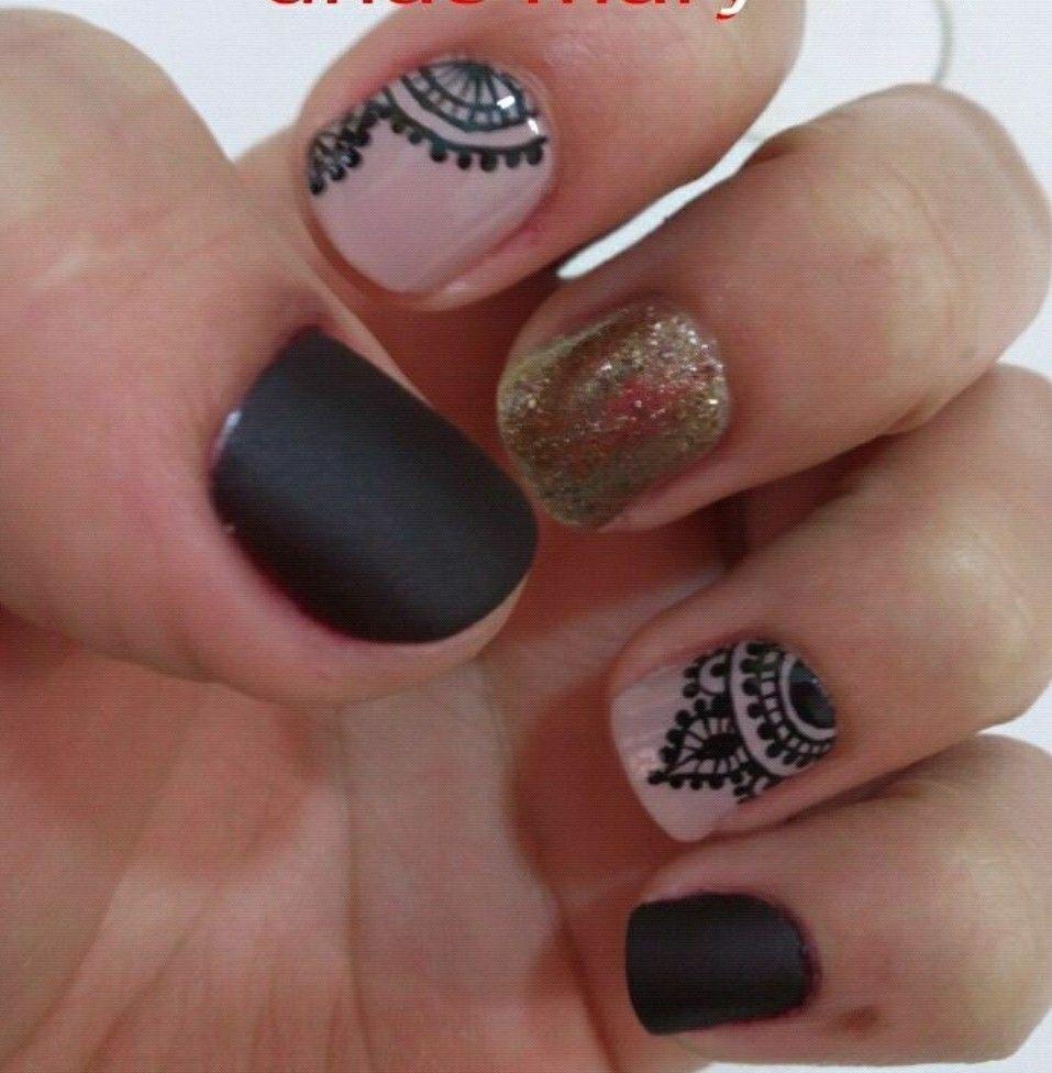 Pin de Angélica en uñas   Pinterest   Diseños de uñas, Manicuras y ...
