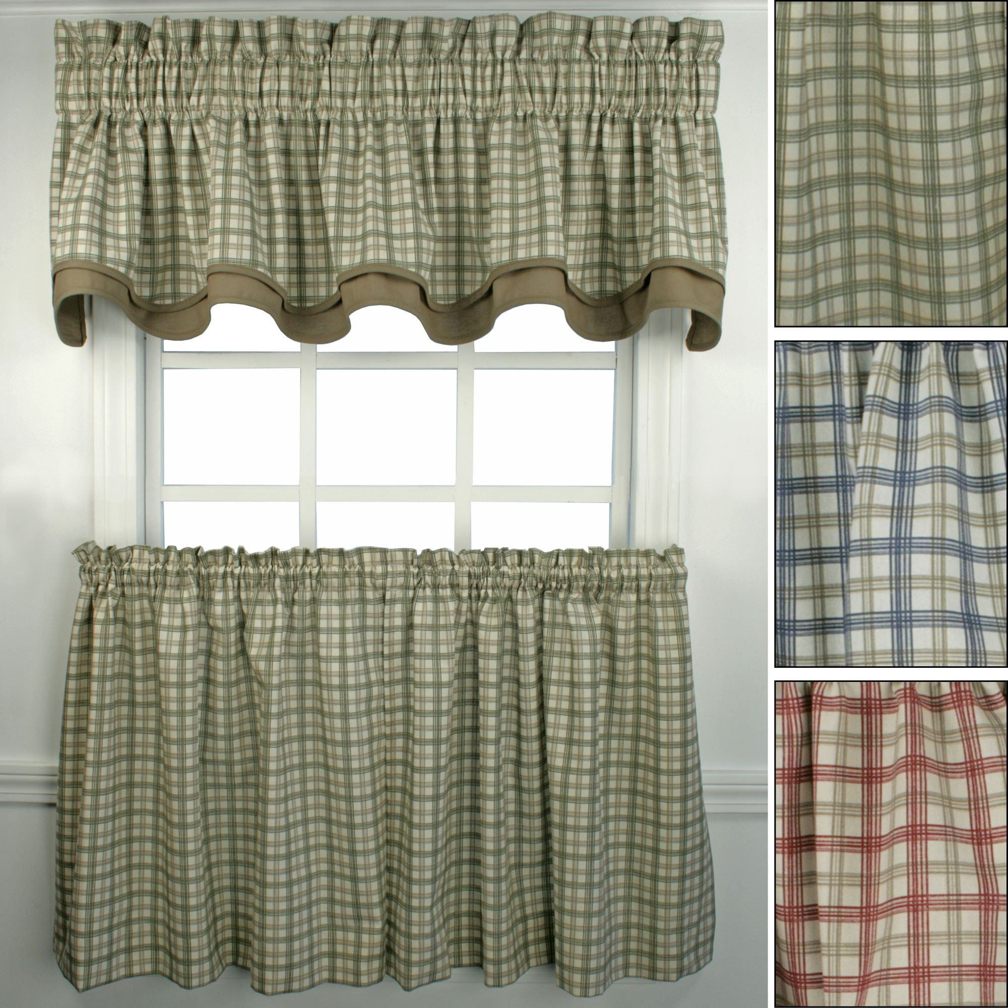 Bristol plaid window curtains realtagfo pinterest