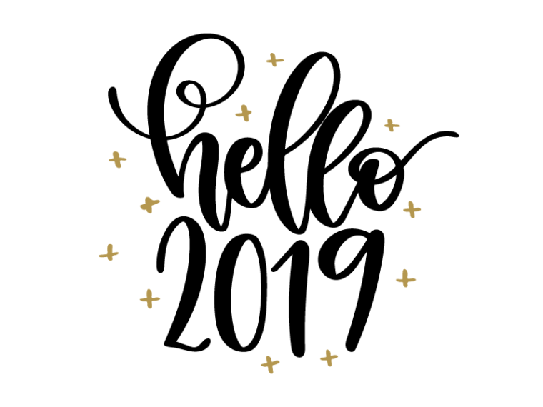 Free New year's svg file for all your creative new year