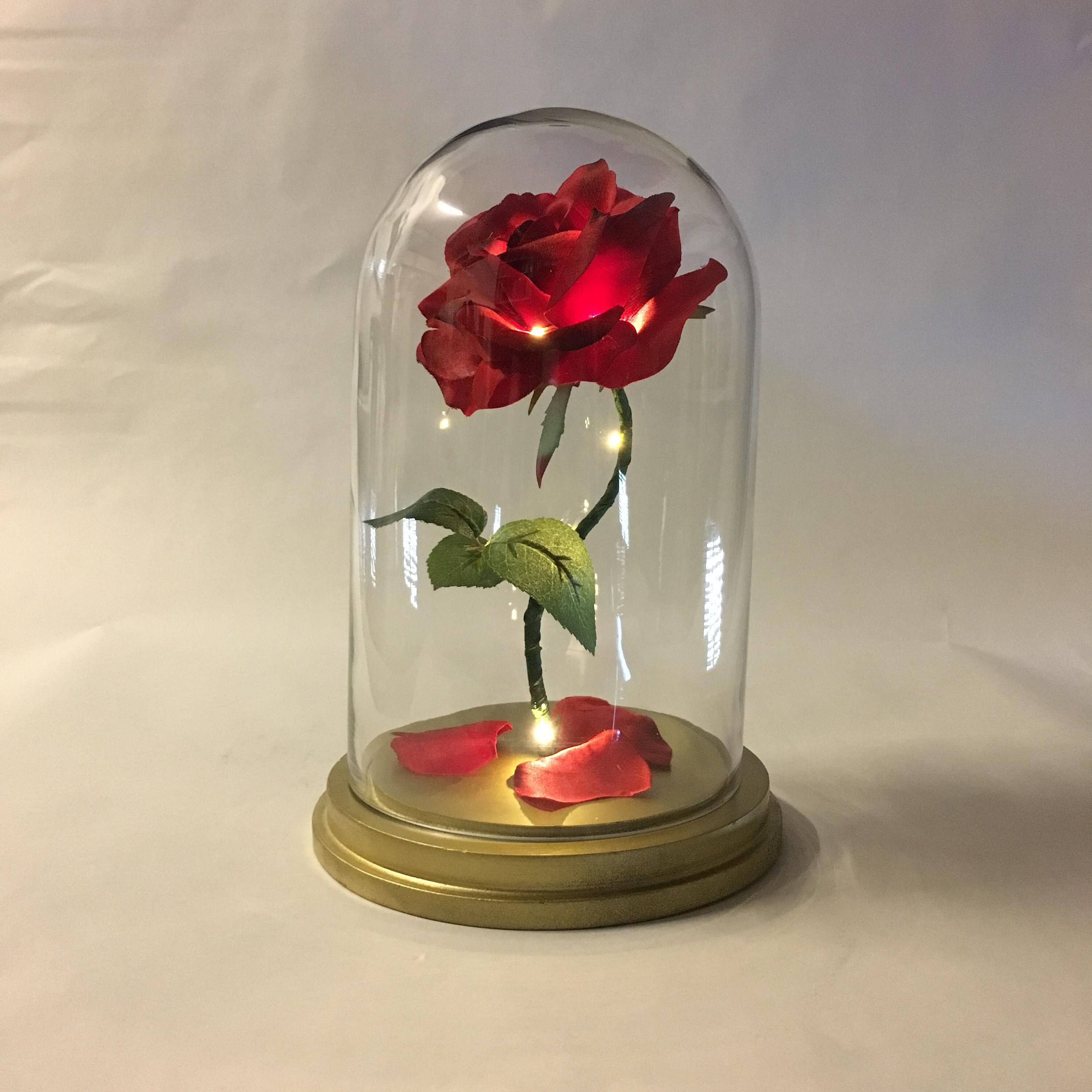 Enchanted Rose Beauty And The Beast Rose Anniversary Wedding