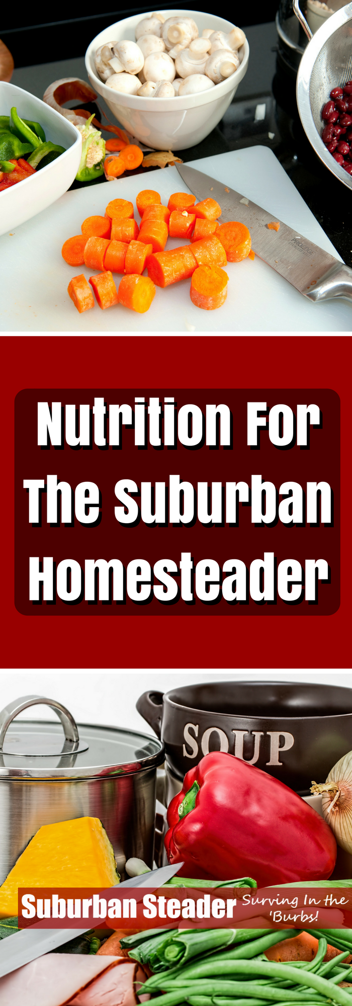 Nutrition is not the first thing that comes to mind when you say suburban homesteading but nutrition is key to success around the homestead.