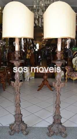 Par de Tocheiro Dom José Cód.12 - SOS Móveis Antigos | SOS Móveis Antigos