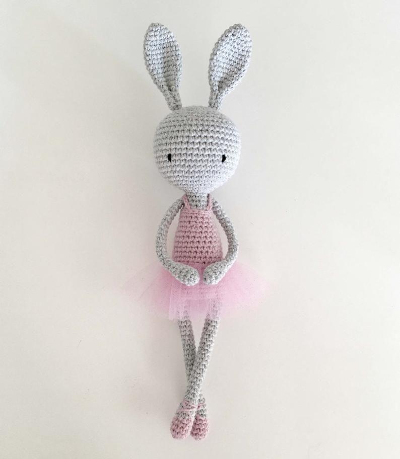 Bunny Rabbit / Lapin / Coniglio - Amigurumi | 912x794