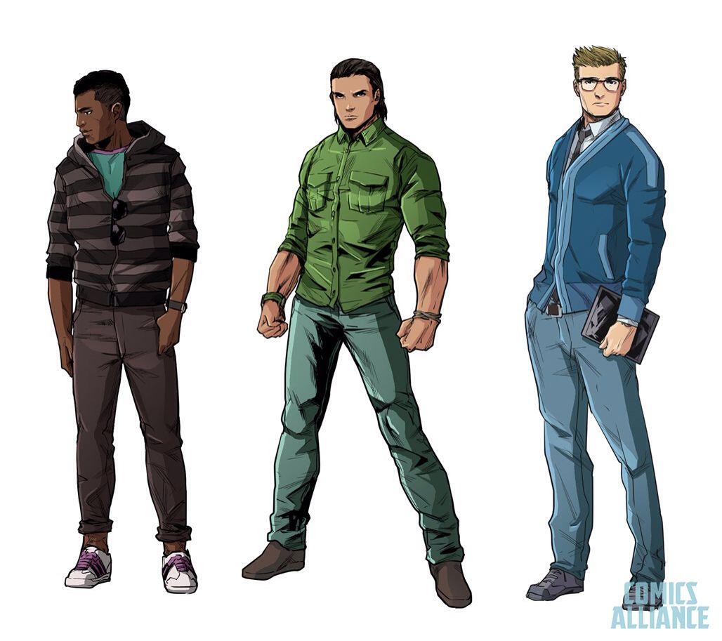 Zack, Tommy & Billy