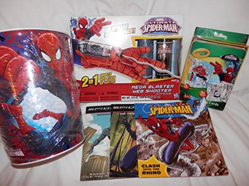 Ultimate Avengers Coloring Pages : Ultimate spider man mega blaster web shooter with glove