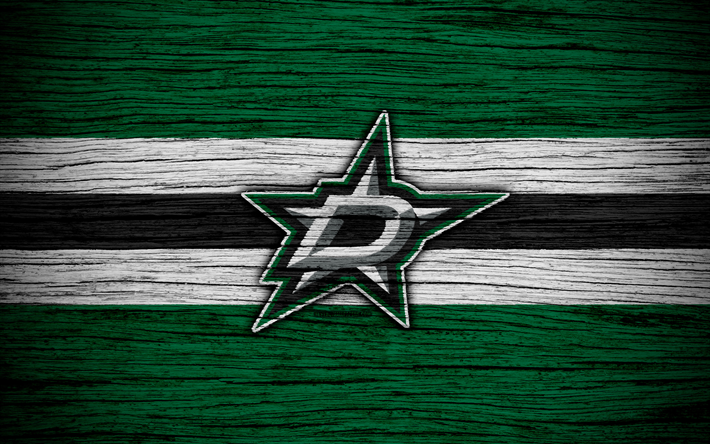 Download Wallpapers Dallas Stars 4k Nhl Hockey Club Western Conference Usa Logo Wooden Texture Hockey Central Division Dallas Stars Nhl Wallpaper National Hockey League