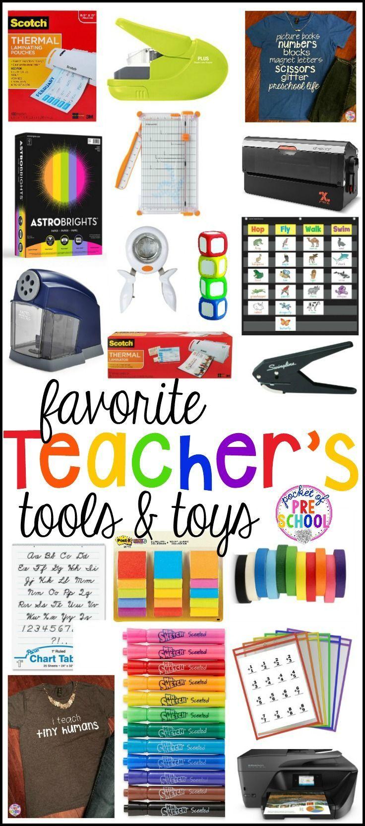 Favorite Teacher's Tools for Preschool & Kindergarten - Pocket of Preschool