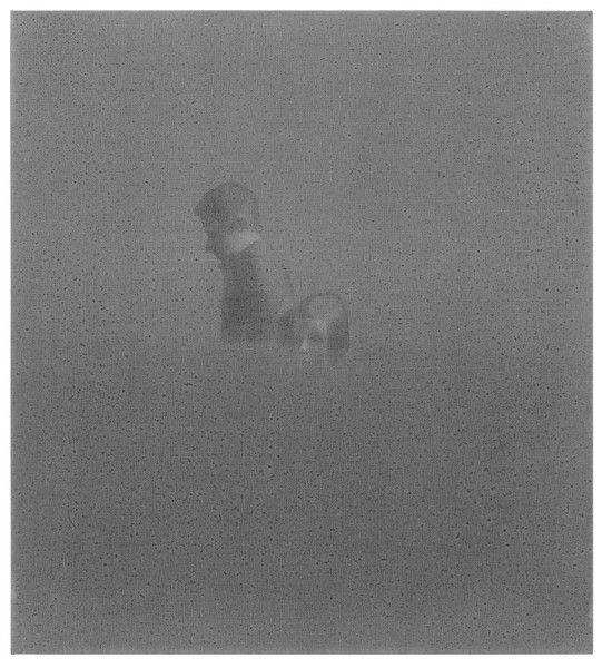 -, 2013, 61,5 x 55,7 cm - 24.2 x 21.9 in., Öl auf Leinwand