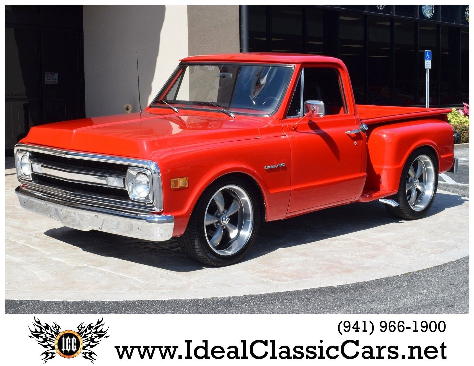1970 Chevrolet Custom C10 Stepside Pickup Classic trucks