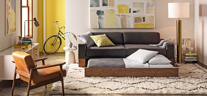 West Elm  Living Room Inspiration