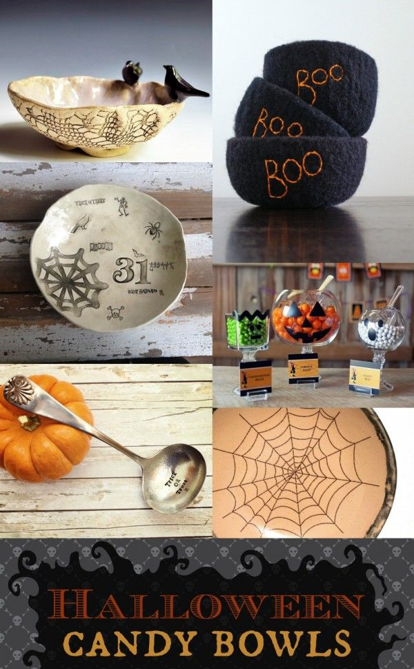 Cool Finds: Halloween Candy Bowls #halloween #candy