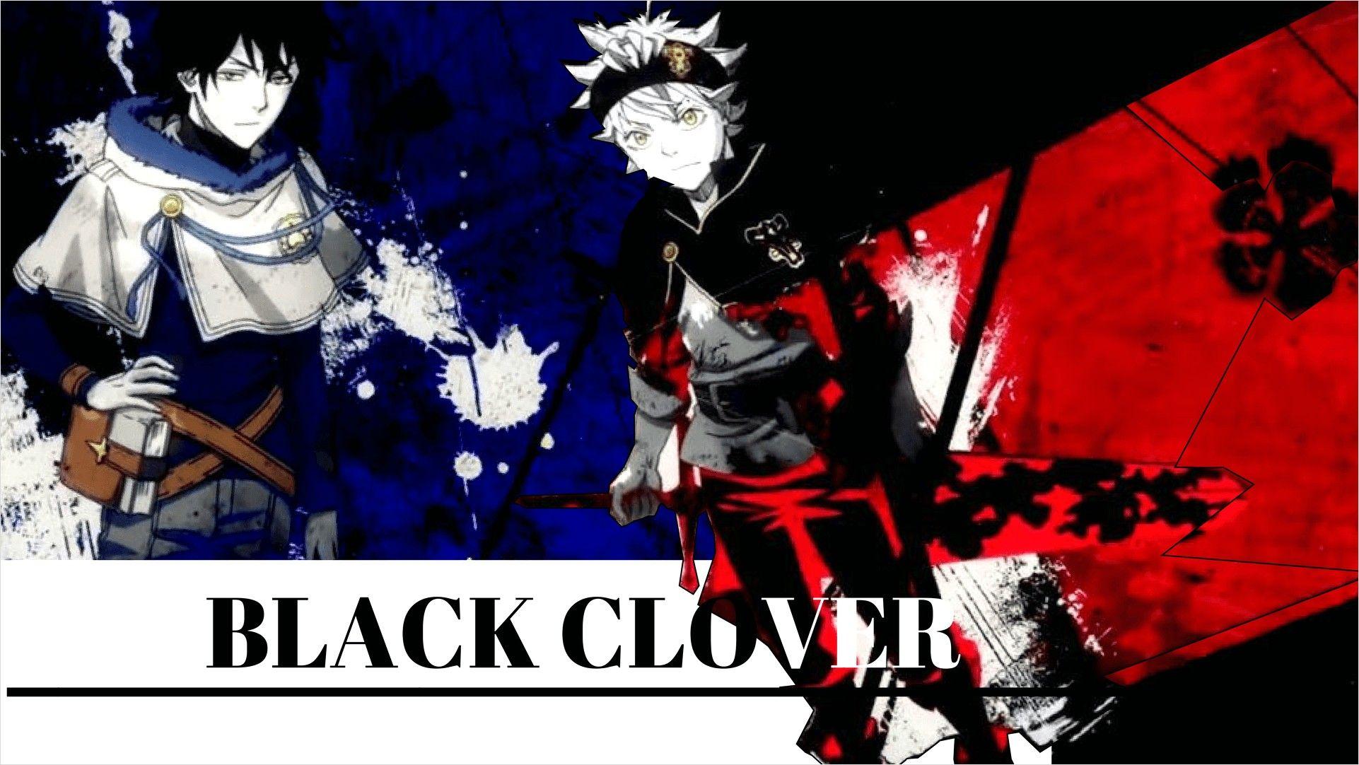 4k Wallpaper Black Clover 1920 1080 In 2020 Black Clover Anime