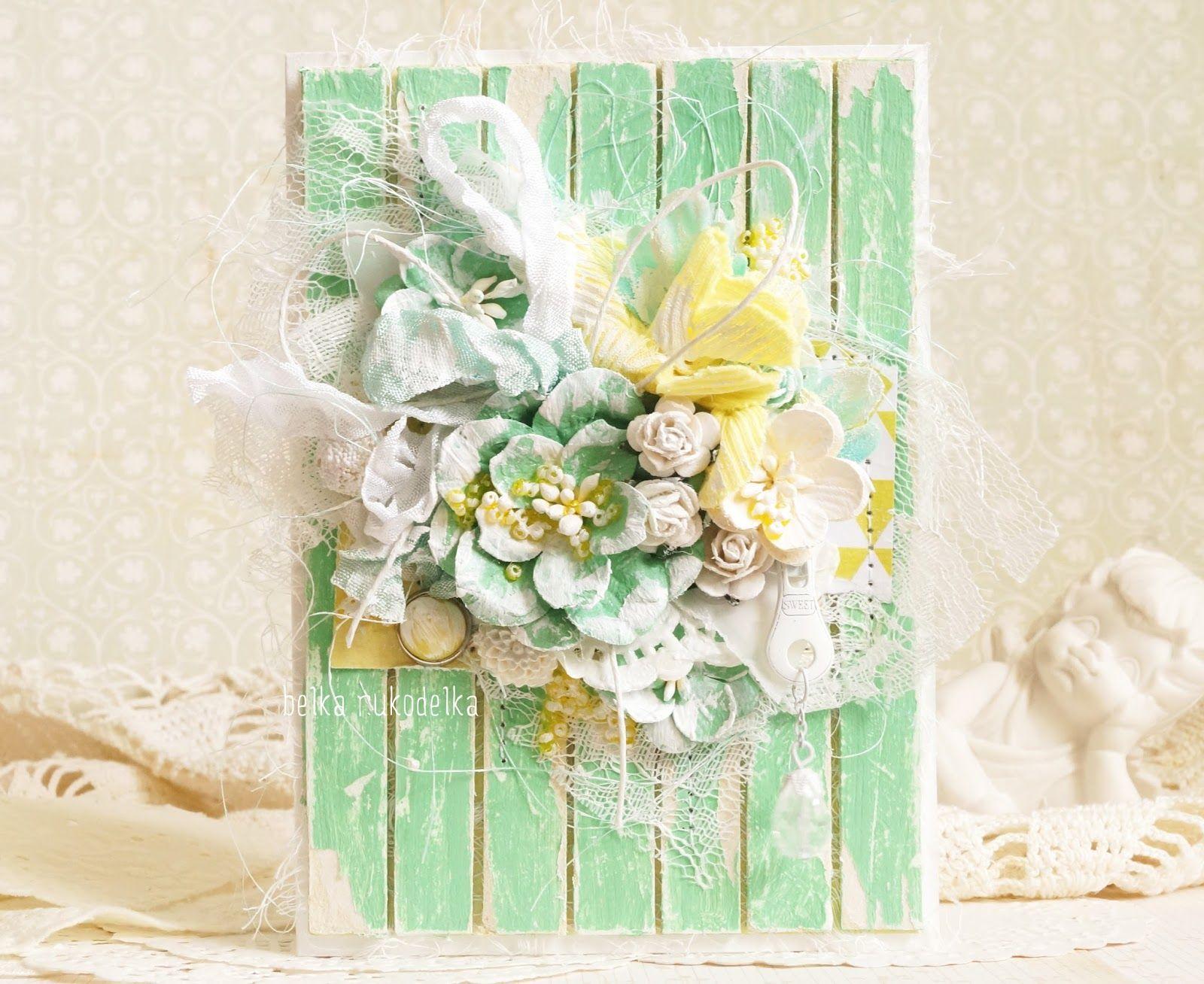 Идеи весенних открыток