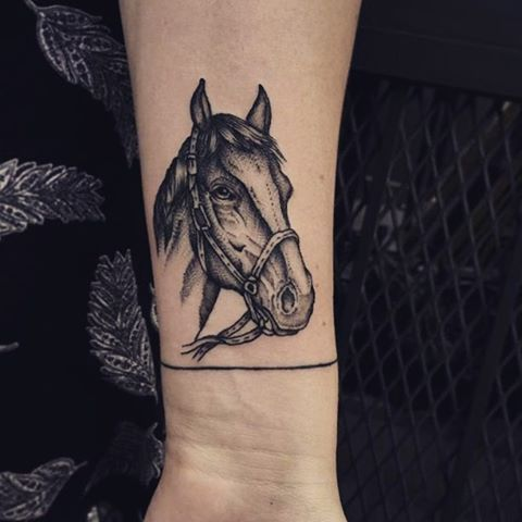 Beautiful Horse Tattoos For Women