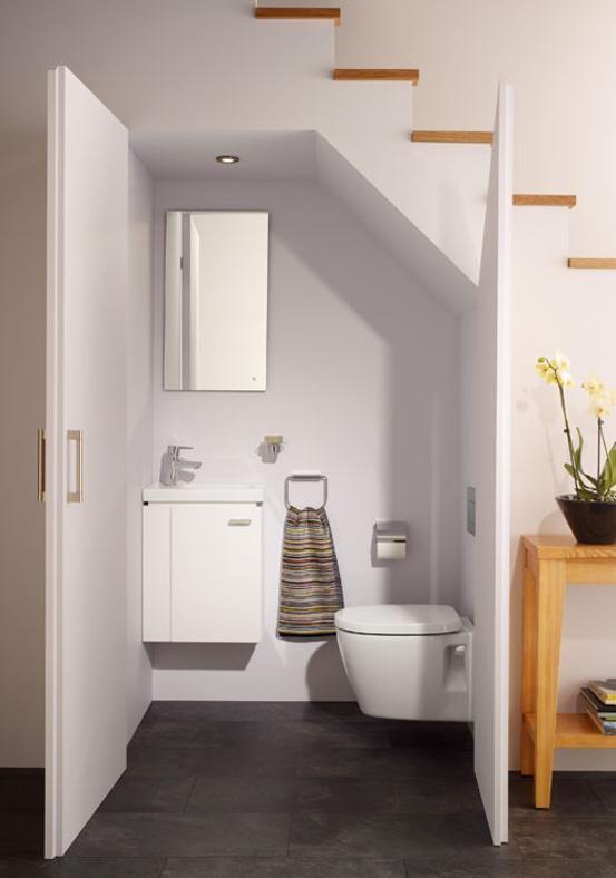 20 idee per arredare un bagno piccolo idealstandard.it | Home Decor ...